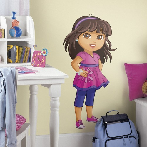 Dora and Friends Peel and Stick Giant Wall Decals