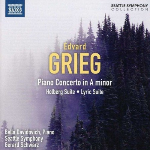 Grieg: Holberg Suite; Piano Concerto; Lyric Suite [CD]