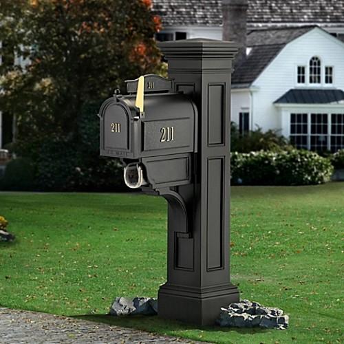 Mayne Liberty Mail Post in Black