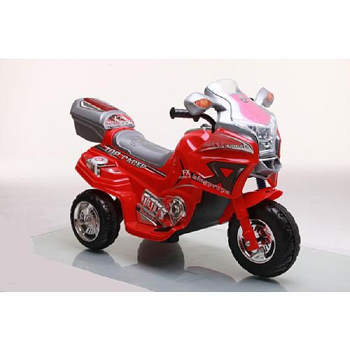 Lil' Rider Top Racer Sport Bike 6 Volt Ride On - Red