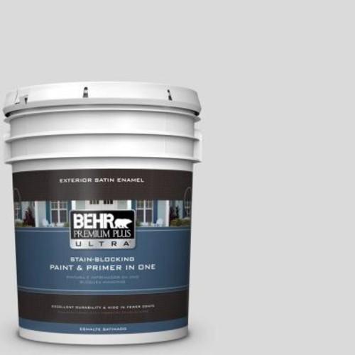 BEHR Premium Plus Ultra 5-gal. #790E-1 Subtle Touch Satin Enamel Exterior Paint