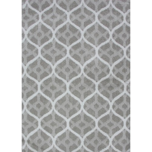 Natco Remus Silver Grey 7 ft. 6 in. x 9 ft. 6 in. Area Rug