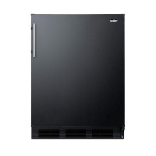 Summit Appliance 5.1 cu. ft. Mini Refrigerator in Black