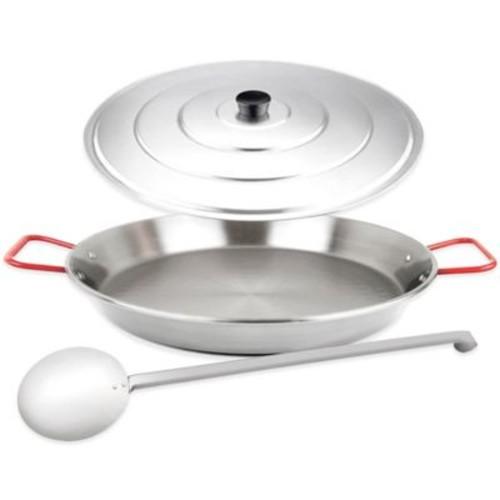 Magefesa Carbon Steel Paella Pan Set