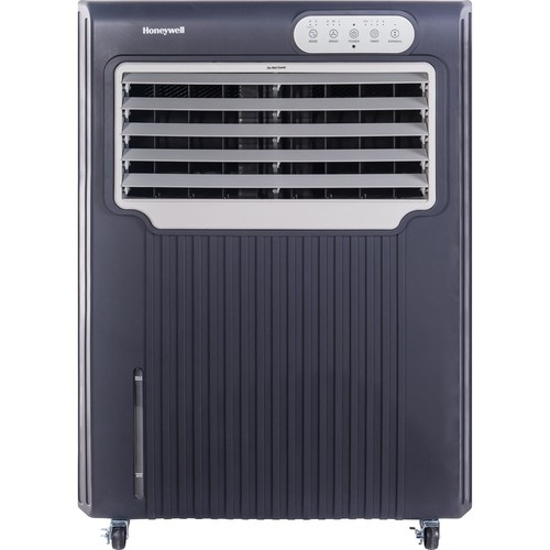 Honeywell - Portable Indoor/Outdoor Evaporative Air Cooler - Gray/White