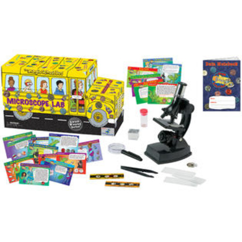 The Young Scientists Club WH-925-1143 The Magic School Bus - Microscope Lab