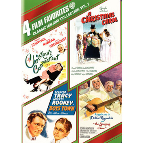 Classic Holiday Collection, Vol. 1: 4 Film Favorites [4 Discs] [DVD]