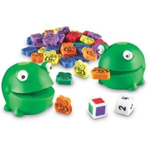 Learning Resources Froggy Feeding Fun Activity Set, 65 Pieces [1]