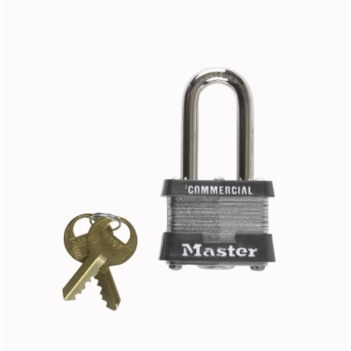 Master Lock 1-1/2 in. Keyed Alike Double Locking Steel Padlock(6 Pack)(3KA#3918)