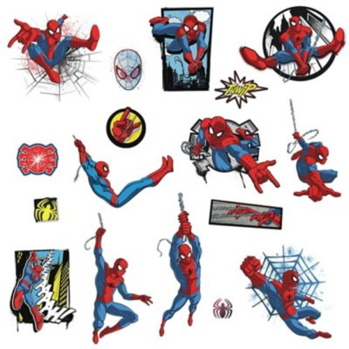 RoomMates Marvel Spider-Man Comic Peel and Stick Wall Decals