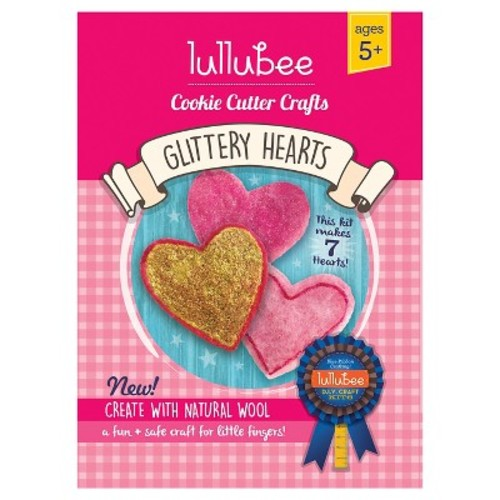 Lullubee Cookie Cutter Wool Craft Set Heart