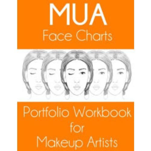 MUA Face Charts Portfolio Workbook for Makeup Artists: Enid Edition