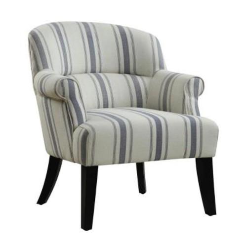 PRI Beige Fabric Arm Chair