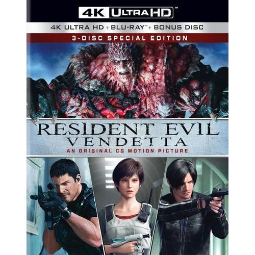 Resident Evil: Vendetta [4K Ultra HD Blu-ray] [2017]