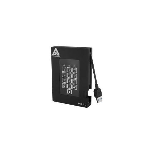 Apricorn Aegis Padlock 500 GB External hard drive ( portable ) USB 3.0 2.5