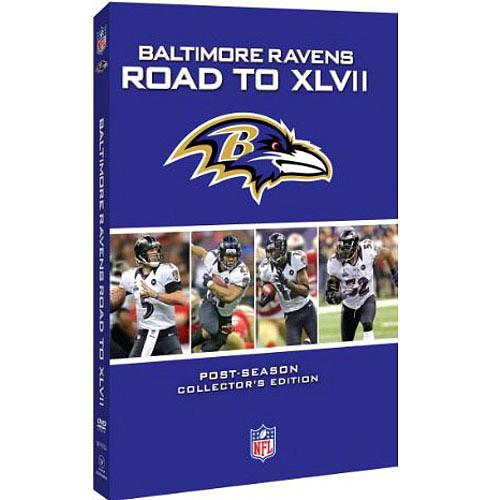 NFL: Baltimore Ravens - Road to XLVII [4 Discs] [DVD] [2013]