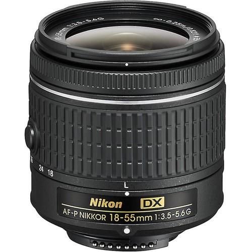 Nikon AF-P DX Nikkor 18-55mm f/3.5-5.6G Standard zoom lens for DX format Nikon DSLR cameras