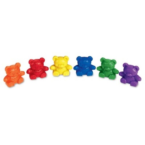 Learning Resources Baby Bear Counters - 6 colors, Set of 102