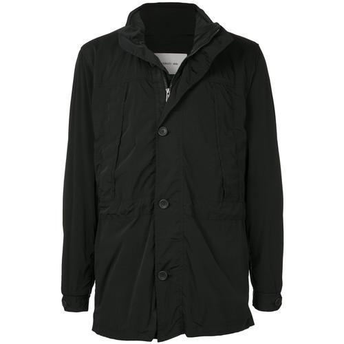 creased lightweight jacket