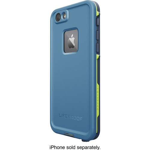 LifeProof - FRE Case for Apple iPhone 6 and 6s - Blue