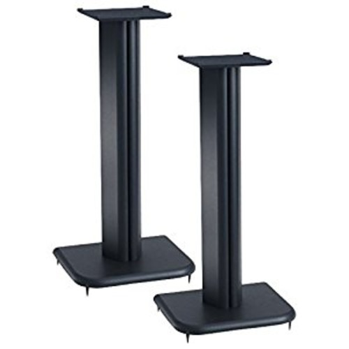 Sanus BF24b Basic Foundations Speaker Stand - Wood - Black