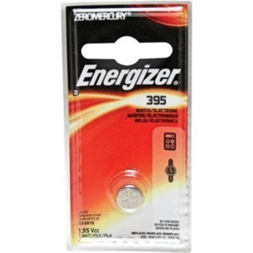 Energizer 395BPZ Zero Mercury Battery - 1 Pack Zero Mercury (Discontinued by Manufacturer)