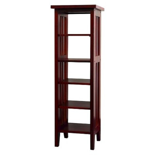 ORE International CD Rack - Cherry [Cherry, One Size]