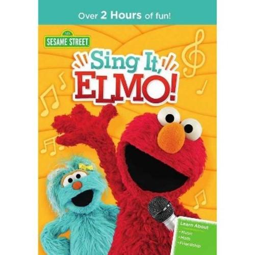 Sesame street:Sing it elmo (DVD)
