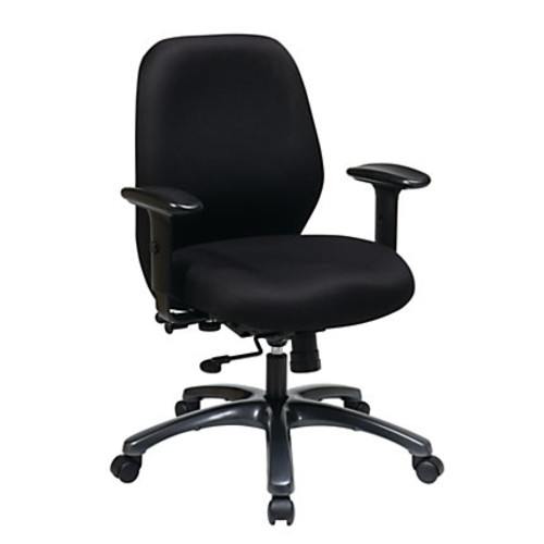 Office Star ProLine II Adjustable Fabric Executive Chair, 41 1/2