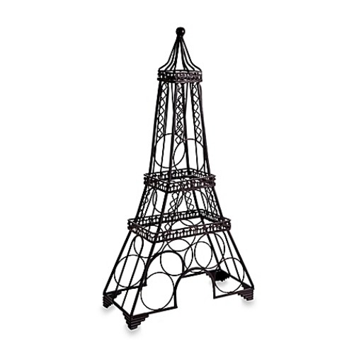Eiffel Tower Wine Rack in Black