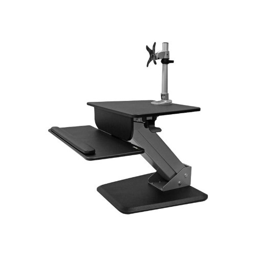 StarTech.com Single Monitor Sit-to-stand Workstation - One-Touch Height Adjustment (BNDSTSPIVOT)