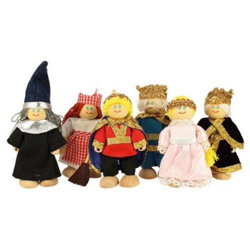 Bigjigs toys Wooden Fairytale Doll Set