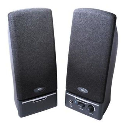 Cyber Acoustics, LLC Cyber Acoustics CA-2014rb 2.0 Speaker System - 4 W RMS - Black