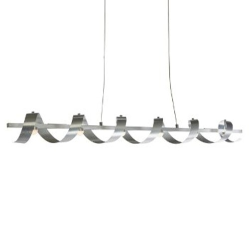 Rolling Hills LED Linear Suspension [Finish : Brushed Aluminum]