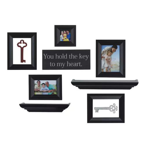 Melannco 10-piece Frame & Wall Decor Set
