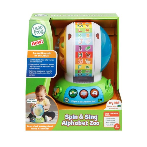LeapFrog(R) Spin and Sing Alphabet Zoo Interactive Spinning Toy