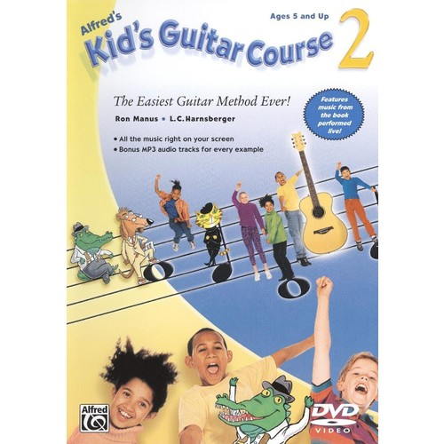 Alfred's Kid's Guitar Course, Vol. 2 [DVD] [2009]
