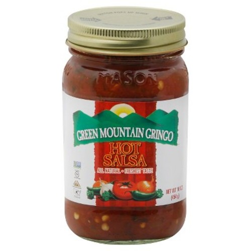Green Mountain Gringo Hot Salsa 16 oz