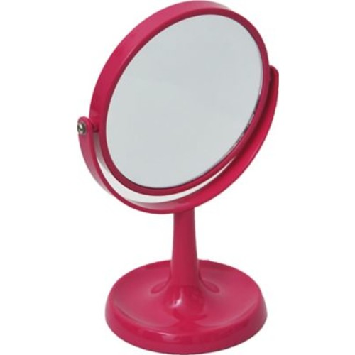 Evideco Magnifying Dual Sided Vanity Mirror; Fuchsia