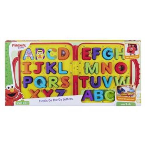 Sesame Street,Hasbro,Playskool Playskool Friends Sesame Street Elmo's On the Go Letters Carry Case