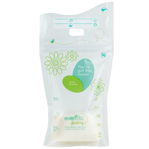 Evenflo Advanced Milk Storage Bags - 80ct