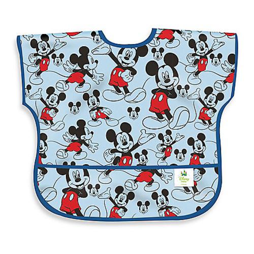 Disney Baby Mickey Mouse Classic Waterproof Junior Bib from Bumkins
