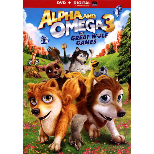 Alpha and Omega 3: The Great Wolf Games [DVD] [2014]