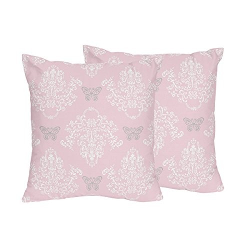 Sweet Jojo Designs Decorative Accent Throw Pillows for the Alexa Collection by
