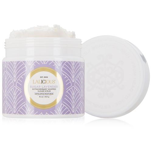 Extraordinary Whipped Sugar Scrub - Sugar Lavender (16 oz.)