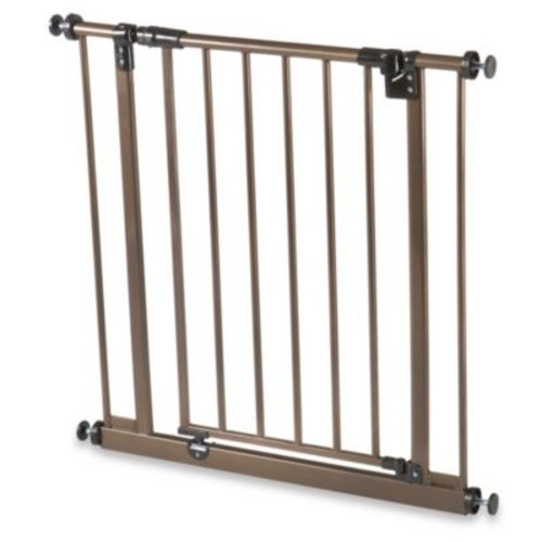 Metal Pet Gate in Bronze