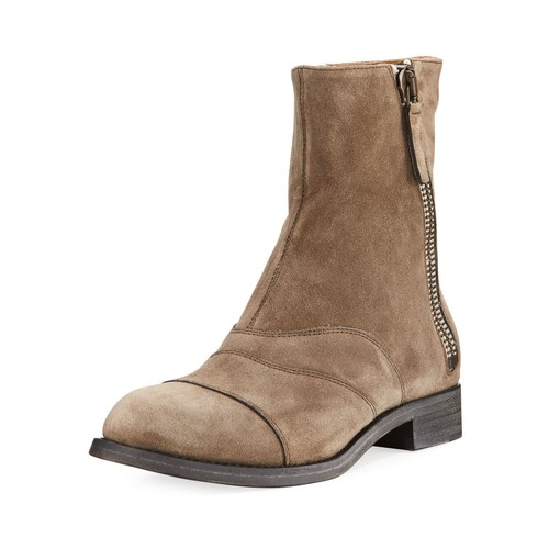 CHLOE Lexie Suede Side-Zip Boot