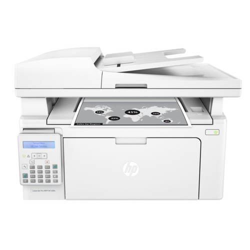 HP LaserJet Pro MFP M130fn Wired Monochrome Laser All-In-One Printer, Copier, Scanner, Fax, G3Q59A#BGJ