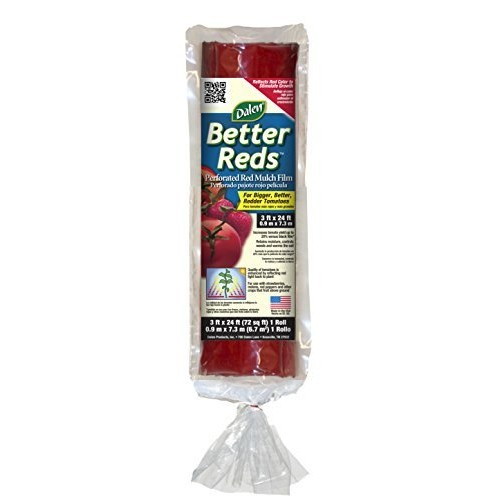 Gardeneer By Dalen Better Reds Mulch Film for Tomatoes 3' x 24' [1 Pack]