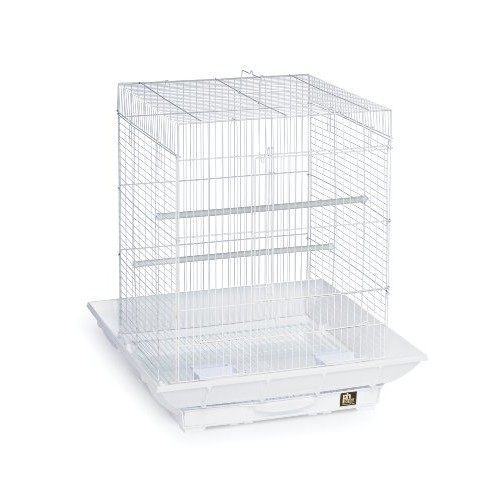 Prevue Clean Life 850 Bird Cage [White]